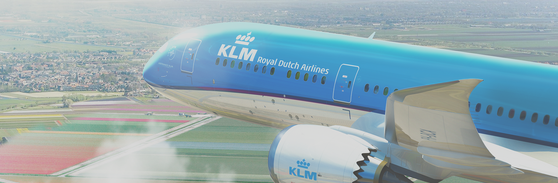 KLM Royal Dutch Airlines !